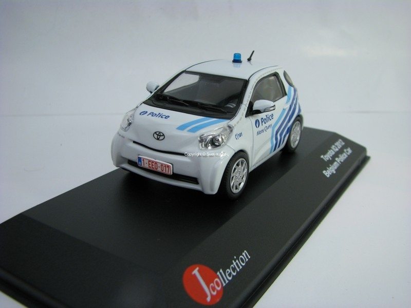 Toyota IQ 2012 Belgium Police car 1:43 J-collection